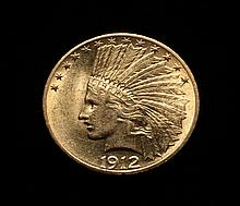 COIN - 1912 $10.00 Indian Gold