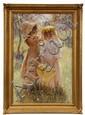 OOC 'Spring Sisters' by Hamilton Hamilton Ca 1880s