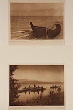 (2) CURTIS PHOTOGRAVURES -