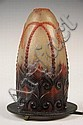 Art Glass Fairy Lamp Shade by G Argy-Rousseau