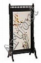 Aesthetic Movement Backpainted Summer Fire Screen