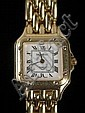 18K Gold Lady's Wristwatch w/ Geneva Quartz Movement
