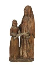 MEDIEVAL RELIGIOUS SCULPTURE - 14th-15th c