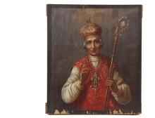 RELIGIOUS ICON - Russian Orthodox Icon, 19th c.,