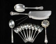TIFFANY STERLING - (13) Pcs of Sterling Silver Flatware by Tiffany & Co