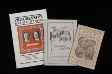 (3) EARLY SONGBOOKS -