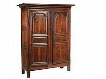 PROVINCIAL FRENCH CUPBOARD - 18th c