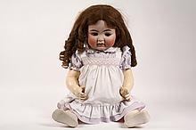 GERMAN BISQUE HEAD DOLL - Kammer & Reinhardt/Simon & Halbig 30