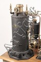 RARE STEAM POWER PLANT MODEL - An Early Historic and Extremely Rare Steam Power Plant Model, built by 'C. F. Dauxdater, Leiheighton, P