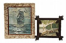 OOC & PRINT IN FOLK ART FRAMES -