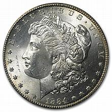 1884-CC Morgan Dollar - MS-64 PCGS - L31600