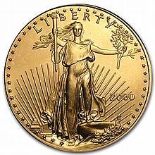 2000 1 oz Gold American Eagle - Brilliant Uncirculated - L30154