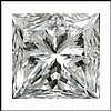 Princess 0.52 Carat Brilliant Diamond E VS1 - L24349