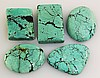Natural Turquoise 114.13ctw Loose Small Gemstone Lot of 5 - L21225