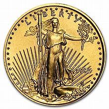 1995 1/10 oz Gold American Eagle - Brilliant Uncirculated - L30013