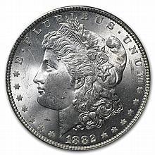 1882 Morgan Dollar - MS-64+ Plus PCGS - L29243