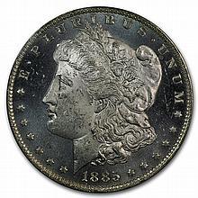1885-O Morgan Dollar - MS-63 DMPL Deep Mirror Proof Like PCGS - L27909