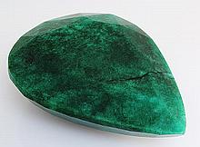 Natural Emerald Beryl 425.50ctw Loose Gemstone PearCut - L20553