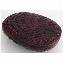 Ruby 1511.5ct Loose Gemstone 80x60mm Oval Cut - L15637