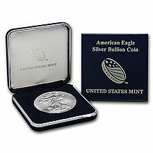 2013 1 oz Silver American Eagle (w/ U.S. Mint Box) - L22777