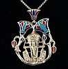 14.84g Egyptian Jewelry - Egyptian Pharaoh King Tut Pendant - L21763