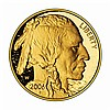 Proof Buffalo Gold Coin One Ounce 2006-W Coin - L21616