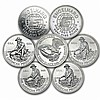 Engelhard Prospector Silver Rounds .999 1 pc... - L24683