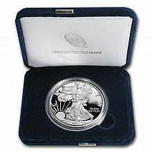 1999-P 1 oz Proof Silver American Eagle (w/Box & CoA) - L22905