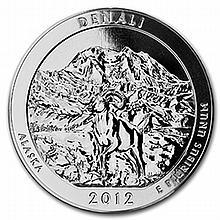 2012 5 oz Silver ATB - Denali National Park, Alaska - L24871