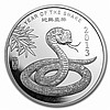 1 oz Year of the Snake Silver Round .999 Fine - L24907