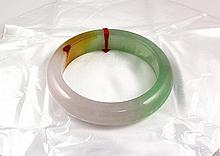 Chinese Antique Jade Bangle - L24070
