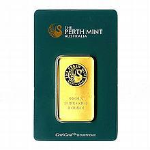One Ounce Gold Bar Perth Mint - L18122