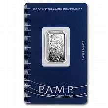 2.5 gram Pamp Suisse Silver Bar - Cornucopia (In Assay) - L24715