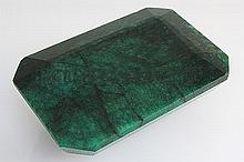 Big Emerald Beryl 730.50ctw Loose Gemstone Emerald Cut - L20547