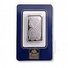 Pamp Suisse One Ounce Platinum Bar - L19518