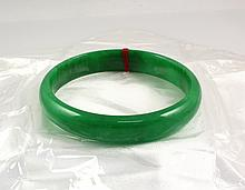 Chinese Antique Jade Bangle - L24069