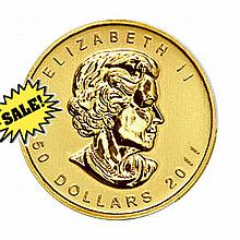 Canada Maple Leaf 1 Ounce Gold Coin 2012 - L18422