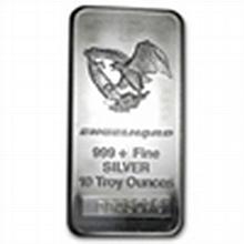 10 oz Engelhard Silver Bar (Tall, Eagle) .999 Fine - L24768