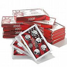 Complete Set US Proof Sets 1999-2011 Silver (13 sets) - L19478