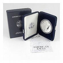 2005-W 1 oz Proof Silver American Eagle (w/Box & CoA) - L22736