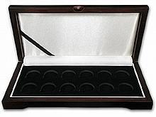 Lunar Series I (1/4 oz Gold) - 12 Coin Wood Presentation Box - L30594