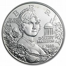 1999-P Dolley Madison $1 Silver Commemorative - MS-69 PCGS - L30424