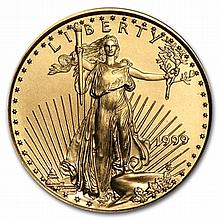 1999 1/4 oz Gold American Eagle - Brilliant Uncirculated - L30150