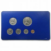 British Virgin Islands 1974 6 Coin Uncirculated Specimen Set - L30838