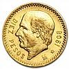 Mexico 1908 10 Pesos Gold Coin (AU/BU) - L30815