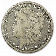 1882-CC Morgan Dollar - Fine - L31443