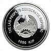 2013 Laos 1 oz Silver Year of the Snake Proof Colorized Coin - L27368