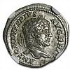 Roman Silver Denarius of Emperor Caracalla (198-217AD) NGC XF - L31060