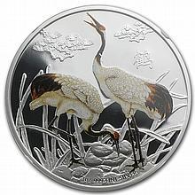 2013 1 oz Silver Niue $2 Feng Shui - Cranes PF-69 UCAM NGC - L28693