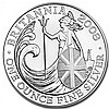 2008 1 oz Silver Britannia (Brilliant Uncirculated) - L30927